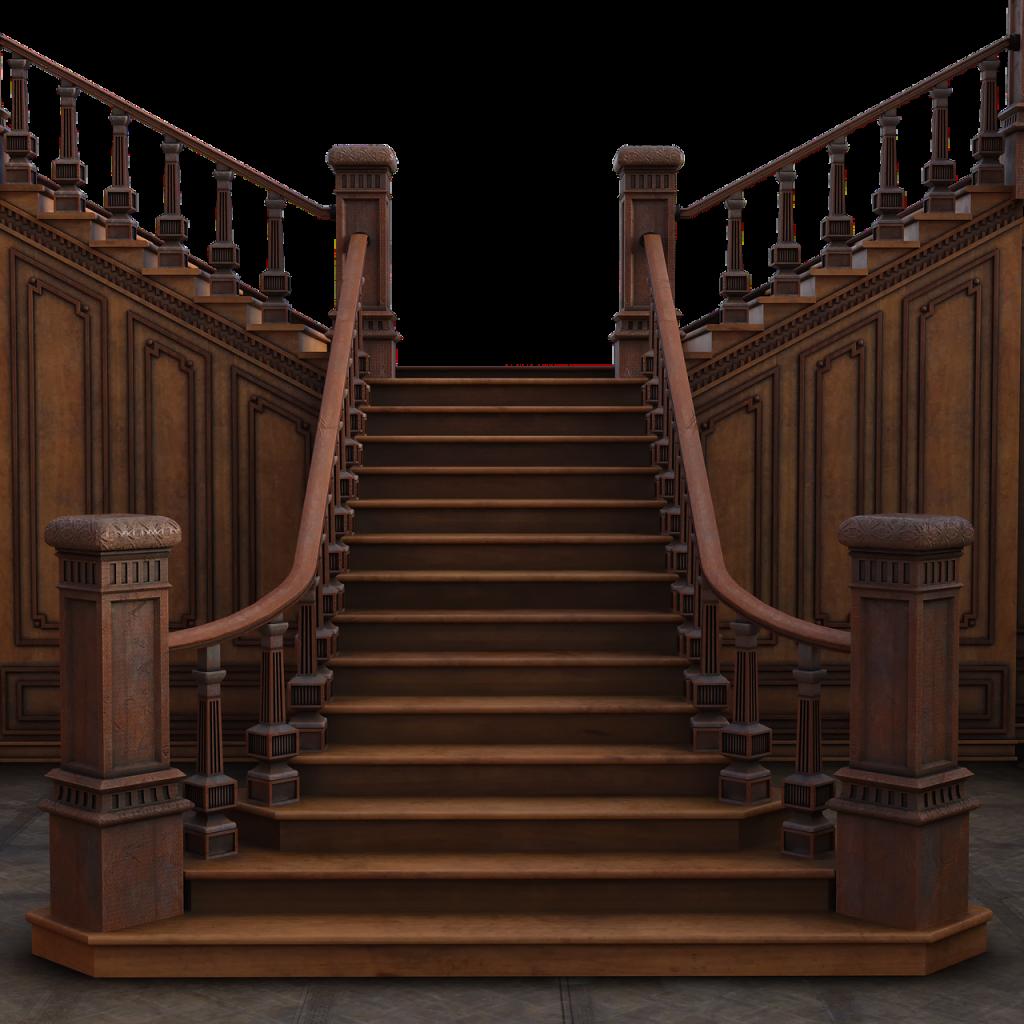 Grand Staircase Steps D Render  - Jazella / Pixabay